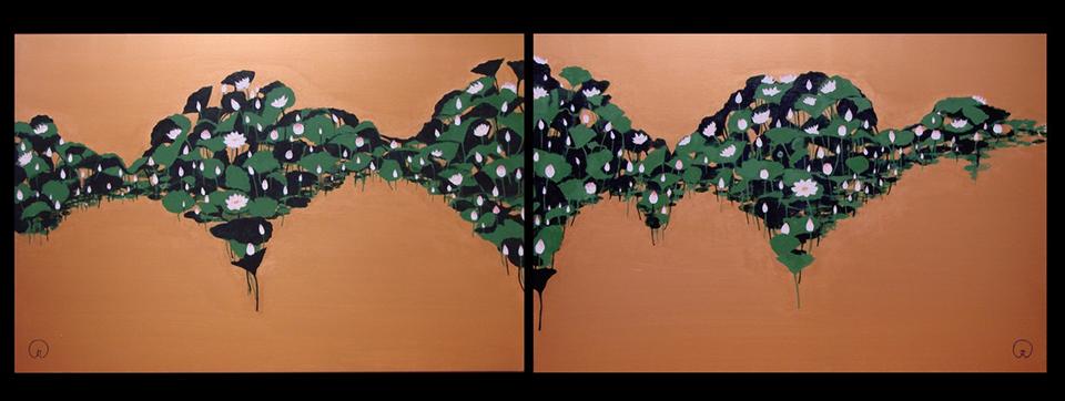 maru artworks / Japanese painter  MARU's website.